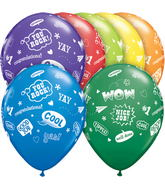 "11"" Congrats Messages Assortment (50 ct.)"
