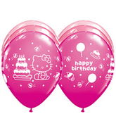 "11"" Hello Kitty� Birthday Assorted (25 ct.)"