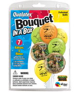 7 Balloons  Dino Dan & Friends Bouquet