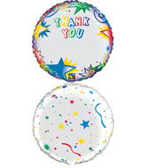 "18"" Thanks You Stars – Personalize"