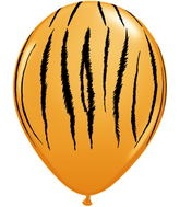 "11"" Tiger Stripes  Orange (50 ct.)"