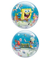 "22"" Sponge Bob & Friends Bubble Balloon"