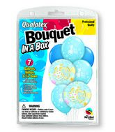 "7 Balloons It�s A Boy 18"" Bouquet"