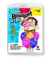 7 Balloons  Ice Cream Cone Bouquet
