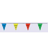"6"" 100' Pennant Assor. Colors (5.5' to 8' cloudbuster only)"