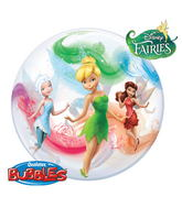 "22"" Tinker Bell & Fairy Friends Bubble Balloons"