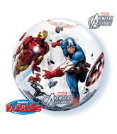 "22"" Avengers Assemble Bubble Balloons"