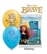 "12"" Brave 6 pack Latex Balloons"