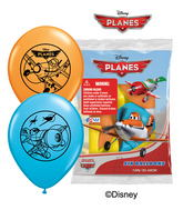 "12"" Disney Planes 6 pack Latex Balloons"