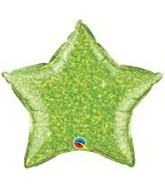 "20"" Crystalgraphic Star Lime Green"