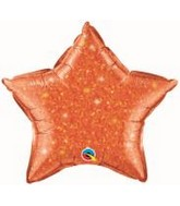 "20"" Crystalgraphic Star Orange"