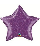 "20"" Crystalgraphic Star Purple"