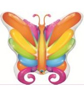 "40"" Brilliant Butterfly Balloons Colorful"