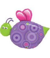 "39"" Cute Flying Bug Jumbo Mylar Balloon"