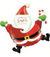 "37"" Jolly Dancing Santa Balloon"