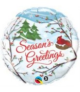 "18"" Season&#39s Greetings Balloon"