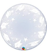 "24"" Deco Bubble Graduation Caps (Stuffable)"