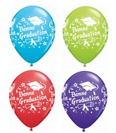 "11"" Bonne Graduation Assorted Colors (French) (50 Ct)"