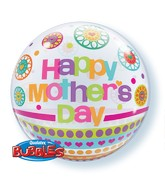 "22"" Single Bubble Mother&#39s Day Dots and Patterns"