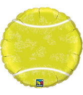 "18"" Tennis Ball Packaged Mylar Balloon"