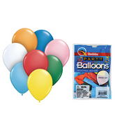 "11""  Asstortment Special Colours 8 count Latex Balloons"