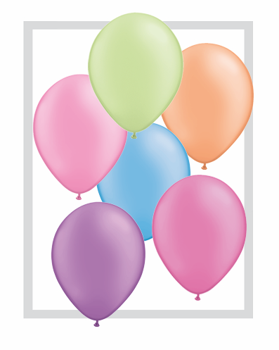 "11""  Qualatex Latex Balloons  NEON ASSORT       100CT"