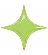 "40"" Starpoint Lime Green D�cor Balloon"