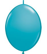 "12"" Qualatex Latex Quicklink Tropical Teal 50 Count"