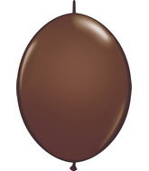 "12"" Qualatex Latex Quicklink Chocolate Brown 50 Count"