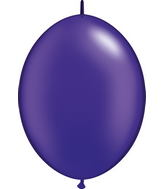 "12"" Qualatex Latex Quicklink Pearl Quartz Purple 50 Count"
