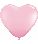 "11"" Heart Latex balloons (100 Count) Pink"