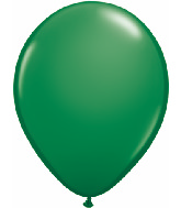 "24""  Qualatex Latex Balloons  GREEN           5CT"