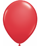 "24""  Qualatex Latex Balloons  RED             5CT"