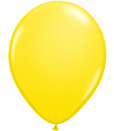 "24""  Qualatex Latex Balloons  YELLOW          5CT"