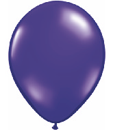 "24""  Qualatex Latex Balloons  QUARTZ PURPLE   5CT"