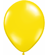 "24""  Qualatex Latex Balloons  CITRON YELLOW     5CT"