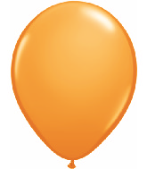 "5""  Qualatex Latex Balloons  ORANGE         100CT"