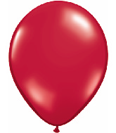 "9""  Qualatex Latex Balloons  RUBY RED       100CT"