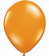 "11""  Qualatex Latex Balloons  MANDARIN ORANGE    100CT"
