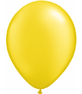 "11"" Qualatex Latex Balloons 25 Per Bag Pearl Citrine"