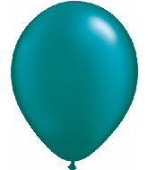 "11""  Qualatex Latex Balloons  Pearl TEAL       100CT"