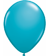 "11""  Qualatex Latex Balloons  TROPICAL TEAL  100CT"