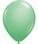 "11""  Qualatex Latex Balloons  WINTERGREEN    100CT"