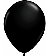 "16""  Qualatex Latex Balloons  ONYX BLACK      50CT"