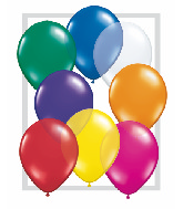 "16""  Qualatex Latex Balloons  JEWEL ASSORT       50CT"
