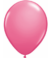"16""  Qualatex Latex Balloons  ROSE  50CT"