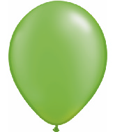 "11"" Qualatex Latex Balloons 25 Per Bag Pearl Lime Green"