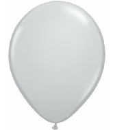 "5""  Qualatex Latex Balloons  GRAY           100CT"