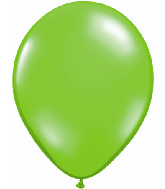 "11"" Qualatex Latex Balloons 25 Per Bag Jewel Lime"