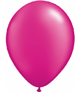 "11""  Qualatex Latex Balloons  Pearl MAGENTA    100CT"